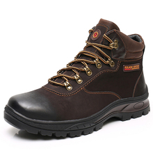 KULADA naturalne buty z wełny mężczyźni aktywność na świeżym powietrzu trampki ciepłe wysokie moda z najwyższej półki męskie buty ochronne najwyższej jakości męskie buty zimowe tanie tanio Pracy i bezpieczeństwa CN (pochodzenie) ANKLE Stałe Dla dorosłych Okrągły nosek Zima Med (3 cm-5 cm) X7006-2 X7006-2B
