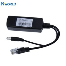 Application de sécurité isolée, entrée DC 24V, cc 12V / 1.5 – 2a, sortie 15.4W, séparateur POE, Micro USB, poe, pour tablette, Dropcam