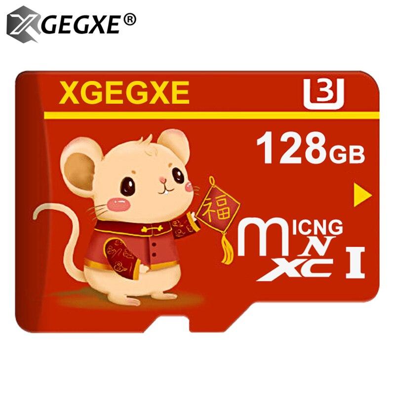 Micro cartão de memória do sd cartão de memória de class10 64 gb 128 gb mini movimentação do flash de microsd cartão de memória tf para o telefone