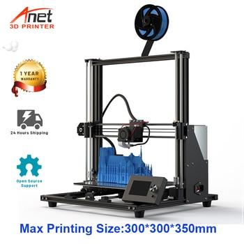 Anet-Impresora 3D Anet A8 Plus, tamaño grande, 300x300x350mm, de escritorio, de Metal...