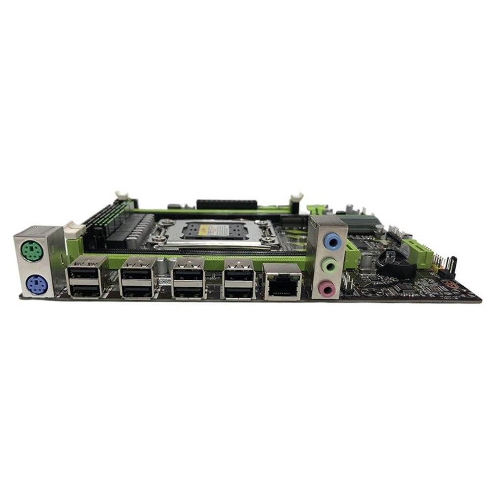 X79 M6 Moederbord LGA2011 Moederbord X79chip USB3.0 SATA3.0 M.2 Ondersteuning DDR3 Regecc Geheugen En Xeon E5 Processor 4
