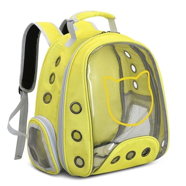 Фото прозрачный воздухопроницаемый панорамный рюкзак в виде капсулы цена