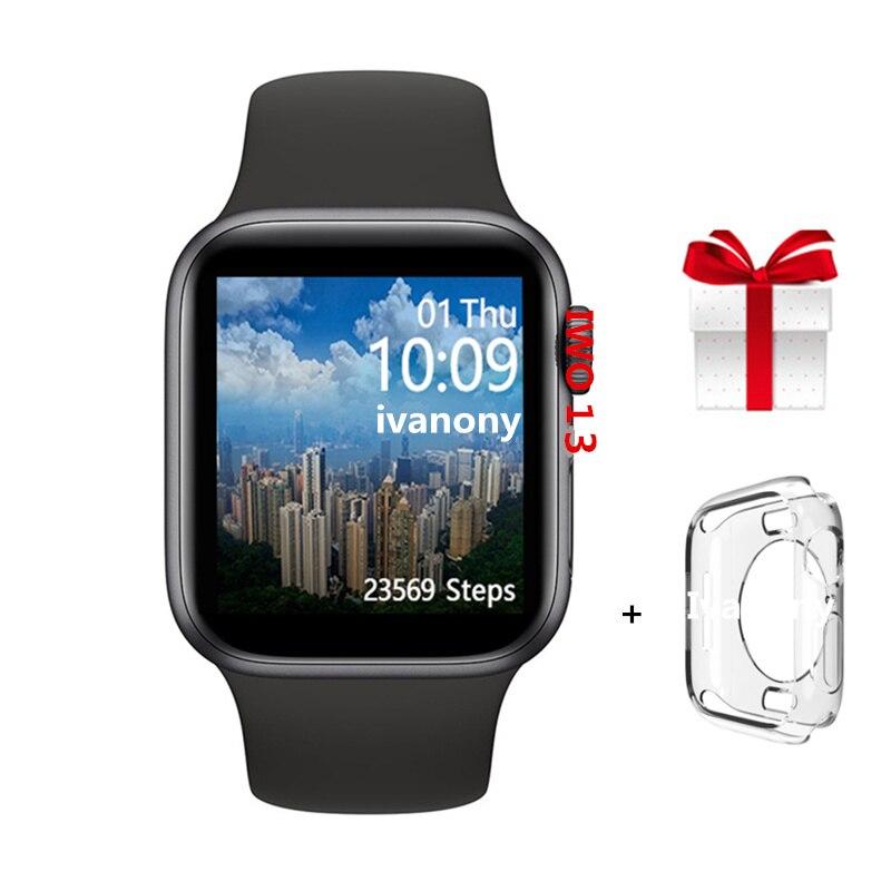 IWO Smartwatch 44mm IWO 13 Smart Watch Men IP68 Waterproof Smartwatch Women 2019 1:1 Series 5 IWO13 For Iphone 6 7 8 X Android