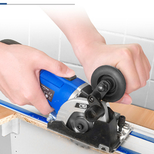 Electric-Saw Tile-Cutter Power-Tool Cut-Track-Cutting Wood Plunge Metal 3-Blades Mini