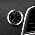 Автомобильные часы, светящиеся миниатюрные автомобильные цифровые часы с внутренней палочкой, механические кварцевые часы, автомобильное ...