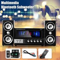 bluetooth Karaoke Speakers Multimedia bluetooth Subwoofer Bass Speakers Music Center System Music Player Support FM Radio TF Mp3