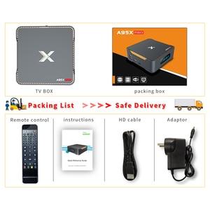 Image 5 - A95X MAX X2 Android 8.1 TV, pudełko 4GB 64GB Amlogic S905X2 2.4G i 5G Wifi BT4.2 1000M obsługa pudełka Smart TV TV, pudełko obsługa nagrywania wideo dekoder