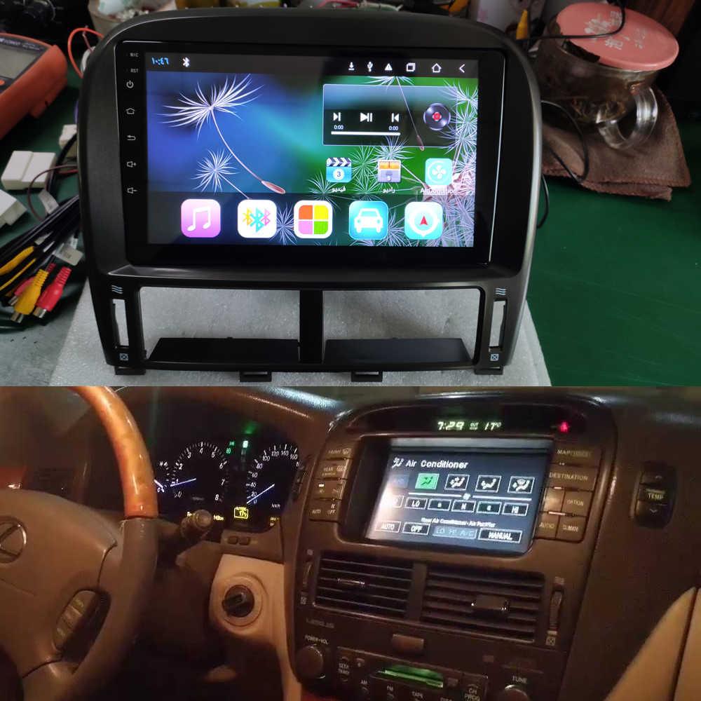 """"" ""Mobil Multimedia Player Android 10 Octa Core 4G LTE GPS untuk Lexus LS430 2005 2003 2006 2007 navigasi Radio Stereo Kepala Unit"