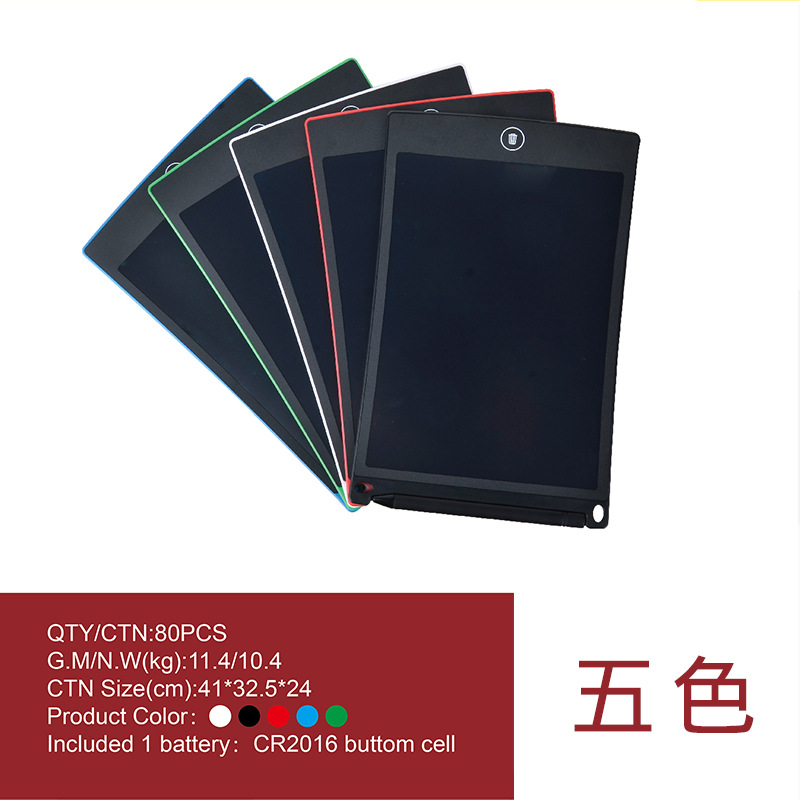 LCD Light Liquid Crystal Electronic Drawing Board Business Electronic Tablet Drawing Board Environmentally Friendly Liquid Cryst