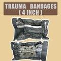 Растягивающаяся повязка из Израиля для экстренных медицинских и военных травм, повязка для остановки кровотечения, 4 дюйма