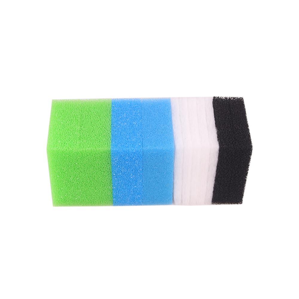 Set Compatible Aquarium Filter Sponge For Juwel Standard / Bioflow 6.0 (1 X Fine, 1 X Coarse, 2 X Nitrate, 2 X Carbon, 5 X Poly)