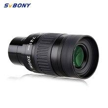 SVBONY-visor telescópico SV135, zoom de 1,25 pulgadas, 7-21mm, ocular con recubrimiento de mul, 6-Elem, 4 grupos, óptico, Zoom continuo