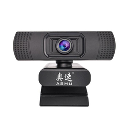 ASHU Webcam USB Web Kamera Digital Full HD 1080P Webcam Web Cam mit Mikrofon Clip-auf 2,0 Megapixel CMOS PC Kamera Für laptop
