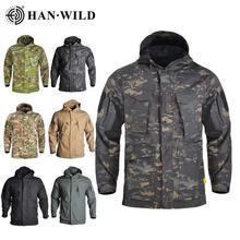 Camouflage Jacket Men Hunting Hoody Windbreaker Clothing Tactical Jacket Waterproof Coat Outdoor Windproof Clothing Male Coat