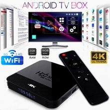 H96 Mini Android 9.0 Smart TV BOX RK3328A Quad Core OTT