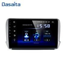 "Dasaita 10.2 ""Octa Core 4GB ram이 장착 된 Peugeot 208 및 2008 2012 2016 용 Android 10 차량용 GPS 플레이어 자동 라디오 멀티미디어 GPS NAVI 4G"