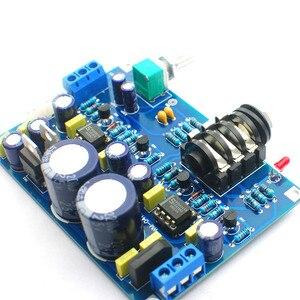 Image 4 - UNISIAN סולו אוזניות מגבר לוח כפול Ne5532 op amp Hifi צליל באיכות אודיו אוזניות מגבר אוזניות