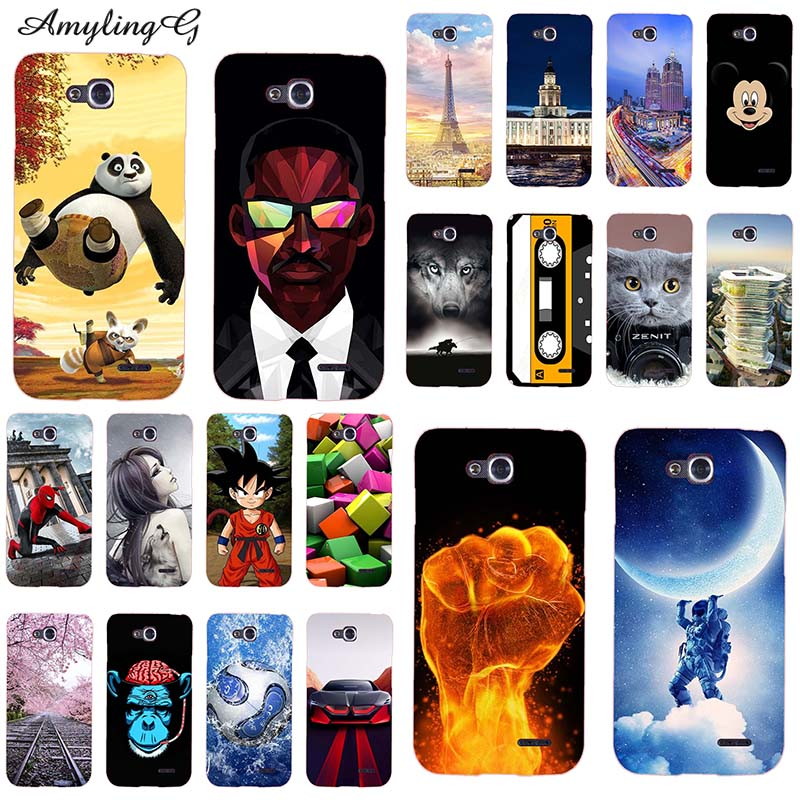 Cases For LG L90 D405 Single Sim Covers For LG L90 Dual D410 D415 Dual Sim Silicone Soft Painted 4.7 Inch For LG L 90 Bags Skins