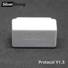 SilverStrong Универсальный Автомобильный OBD2 ELM327 V1.5 Bluetooth автоматический сканер OBDII автомобильный ELM 327 бортовой диагностический инструмент для Android