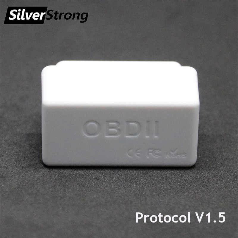 SilverStrong Universal รถ OBD2 ELM327 V1.5 Bluetooth Auto Scanner OBDII ELM 327 On Board Diagnostic TOOL สำหรับ Android