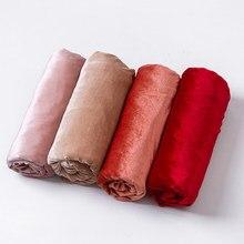 Tecido elástico de poliéster e veludo, material de malha pleuche para esportes, tecido elástico de veludo, faça você mesmo, patchwork