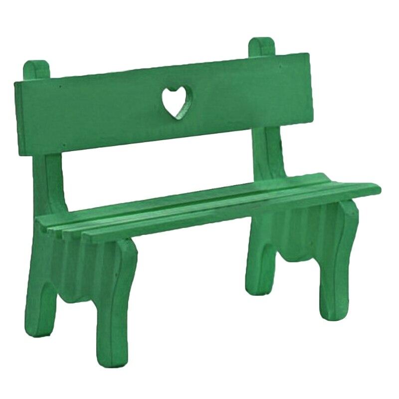 Small Chair Ornament Fairy Garden, Decorative Garden Benches Mini