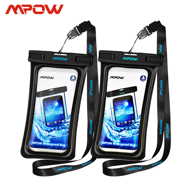 Mpow IPX8 Waterproof Bag Case Universal 6.5 inch Mobile Phone Bag Swim Case Take Photo Under water For iPhone Xs Samsung Huawei 1