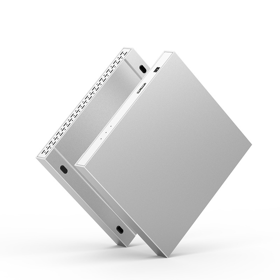 External HDD <font><b>Enclosure</b></font> 2 Bay <font><b>2.5</b></font> inch 10Gbps USB 3.0 / Type C <font><b>Raid</b></font> 4 Modes for Windows Mac Linux 20TB SATA Hard Drive Array Box image