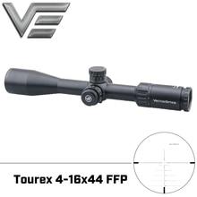 Ótica do vetor tourex 4 16x44 tactical scope zero stop torreta 1/4 moa 30mm monotube min 10 yds foco lateral apto para. 308 win. 338