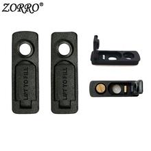 Nadaje się do Zippo Zorro lżejsze wnętrze gumowy spód lżejsze knoty bawełny zmniejszyć lotną benzynę bez wkładki tanie tanio Other 91371 Rubber No liner No Box Package
