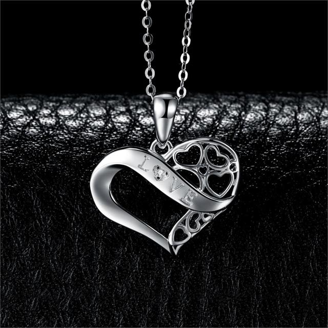 Love Infinity Sterling Silver Pendant