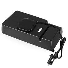 Vehemo 1 шт. Флокирование беспроводной зарядки коробка для хранения полка для мелочей Водонепроницаемый Новый автоматический отключение пита...