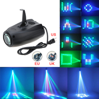 20W RGB 64 5MM LED Lamp Beads DJ Projector Autosound Lamp Music Party Lighting Control Stage Led Disco Light