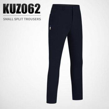 2019 New PGM Golf Pants Men's Summer Pants with Lower Elastic Belt and Plug-in tee Slim Pants KUZ062