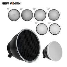 7inch 18cm Standard Reflector Diffuser with Honeycomb Grid for Universa Mount Studio Light Strobe Flash K 150A K 180A E250 E300