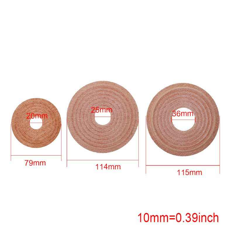 クモパッド春ウーファーサブウーファー弾丸波榴散弾オーディオスピーカーアクセサリー修理 DIY 25-50 ミリメートル 115 ミリメートル
