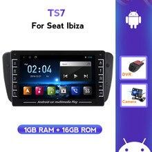 Android Usb Wifi Head Unit Auto Multimedia Voor Seat Ibiza MK4 6j 2009 2010 2011 2012 2013 Auto Radio Steering wiel Bluetooth
