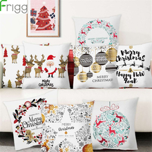 Frigg Christmas Cushion Cover Cushions Home Decor Sofa Decorative Pillowcase Pillow Throw Covers