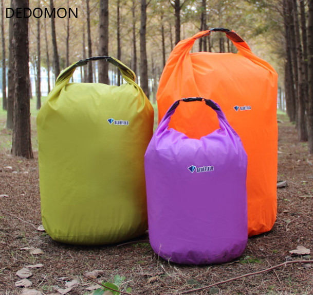 Outdoor Swimming Waterproof Bag Camping Rafting Storage Dry Bag With Adjustable Strap Hook 10L 20L 40L