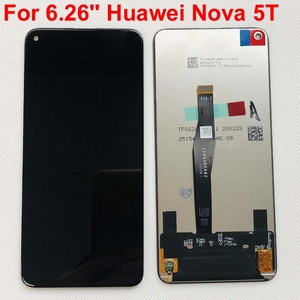 Image 1 - 100% ทดสอบต้นฉบับสีดำ 6.26 สำหรับ Huawei Honor 20 honor20 /nova 5T YAL L21 จอแสดงผล LCD หน้าจอสัมผัส digitizer ASSEMBLY Parts