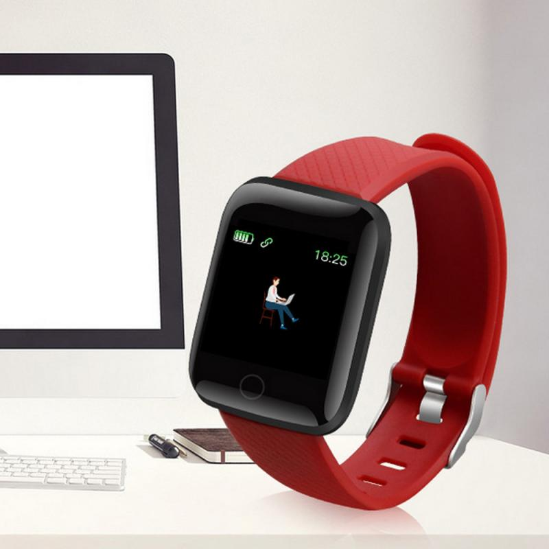 Original 116Plus Smart Band Watch Bluetooth Heart Rate Blood Pressure