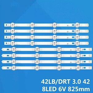 Image 1 - NEW 8 PCS/set LED backlight strip bar for LG LC420DUE 42LB3910 INNOTEK DRT 3.0 42 inch A B 6916L 1709A 6916L 1710A 1956A 42LB