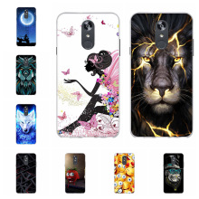 For LG Q Stylo 4 Case Ultra Thin Soft TPU Silicone Q710MS Cover Cute Dog Patterned Shell Coque