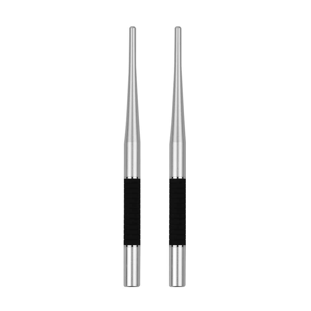 2-in-1 Capacitive Stylus Pen High Precision With Fiber Tip And Disc Tip Metal Touch Screen Pen For Phone Tablet Laptop Drawing