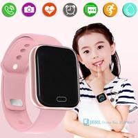 Fitness Kids Smart Horloge Kinderen Smartwatch Voor Meisjes Jongens Smart Klok Studenten Waterdichte Fitness Tracker Kind Slimme-Horloge