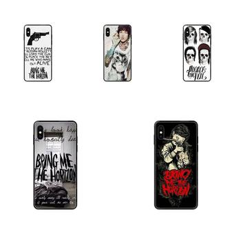 Metalcore Band Bmth Logo For iPhone 11 12 Pro 5 5S SE 5C 6 6S 7 8 X 10 XR XS Plus Max TPU Protector Cases image