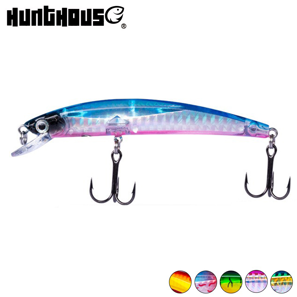 Hunthouse Yo Zuri Minnow Wobblers Fishing Lure 90mm 7.5g Floating Hard Bait For Fishing Perch Pike Lure Leurre Minow Artificial