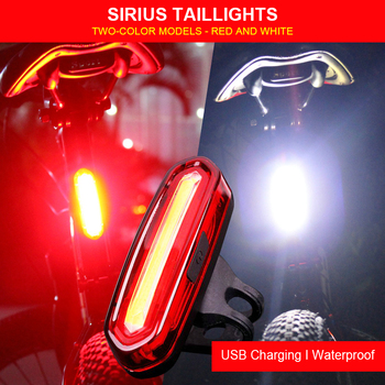 170 lumens multifunction led light lightweight compact usb rechargeable torch for cap light headlamp bicycle light Bike Bicycle  Light 120 Lumens LED Rear For Light Rechargeable Usb Cycling Light Safety Waterproof Taillight Bike Accessories
