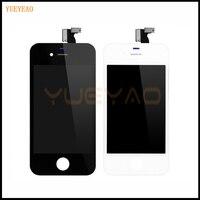 Yueyao para iphone 4 4g 4S a1332 display lcd digitador da tela de toque assembléia a1332 ecran substituição da tela
