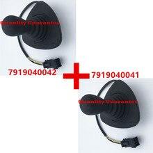 Linde forklift parçası joystick çapraz kol 7919040042 ve 7919040041 dizel elektrikli kamyon 335 336 386 394 396